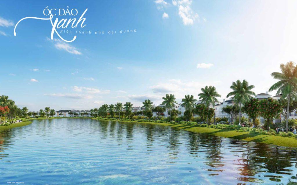 Bán Biệt Thự Đơn Lập Mặt Hồ Khu Ngọc Trai Vinhomes Ocean Park
